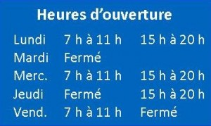 CCC-horaire